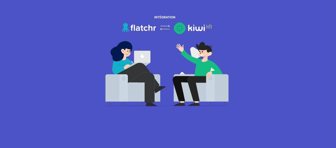 Flatchr et kiwiHR deviennent partenaires - Jan. 2021