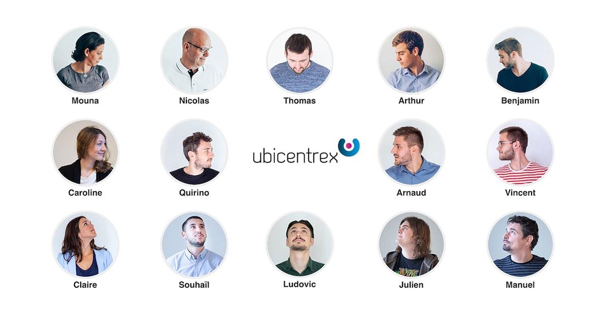 Ein Teil des Teams von Ubicentrex