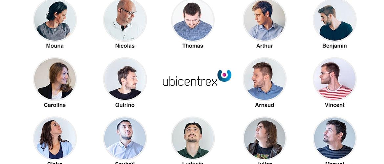 Une partie de l'équipe Ubicentrex