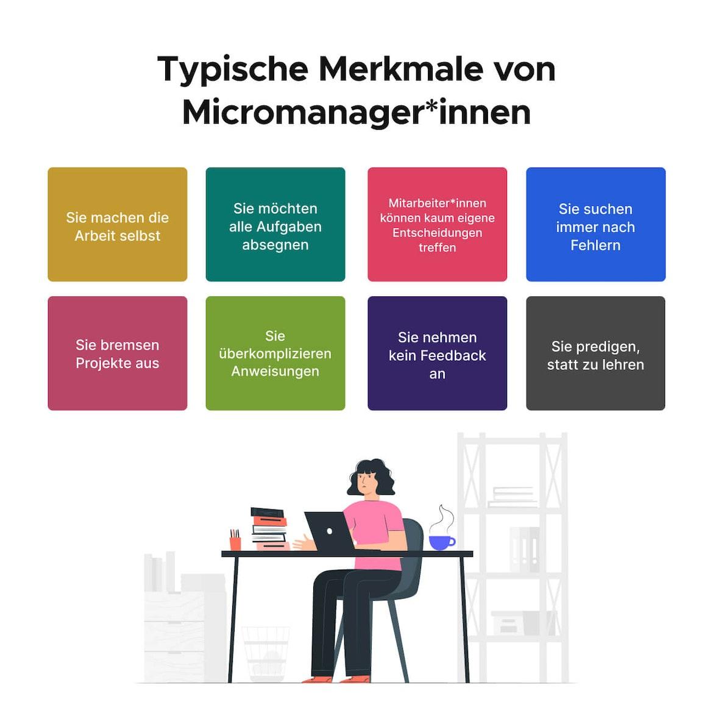 Typische Merkmale von Micromanagern