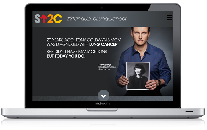 Stand Up to Lung Cancer