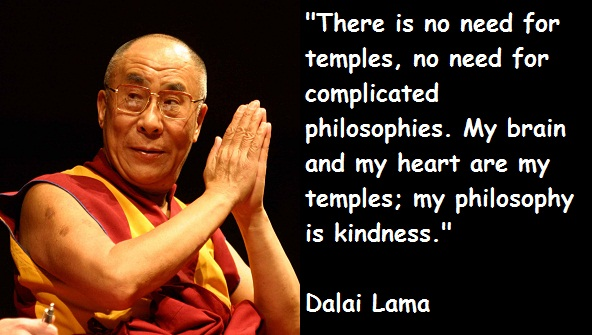 dalai lama on kindness