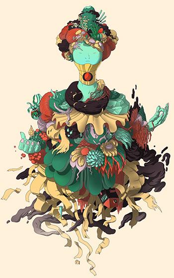 green-meditator - www.behancenet-oritoor.jpg