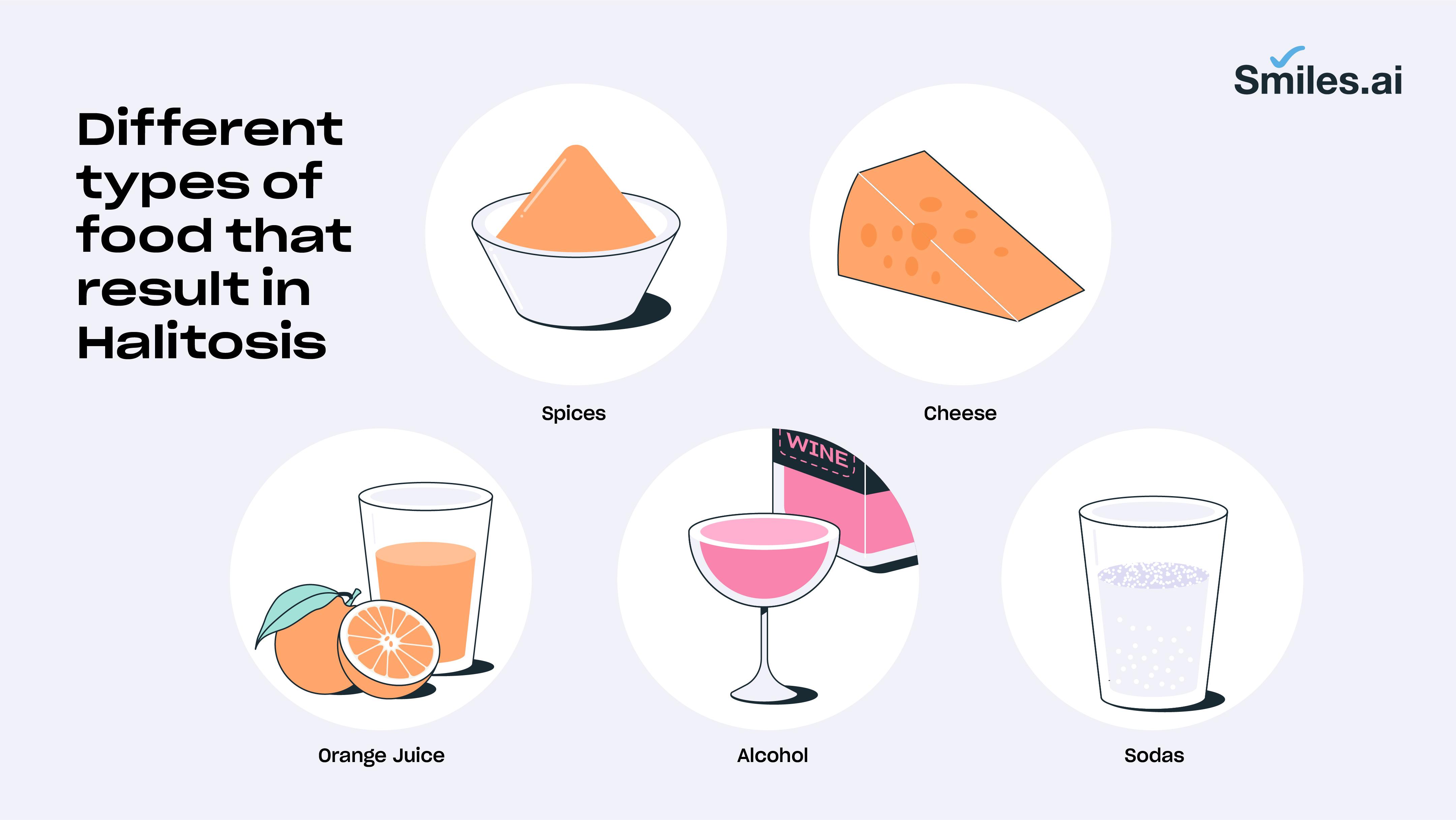 food that causes bad breath