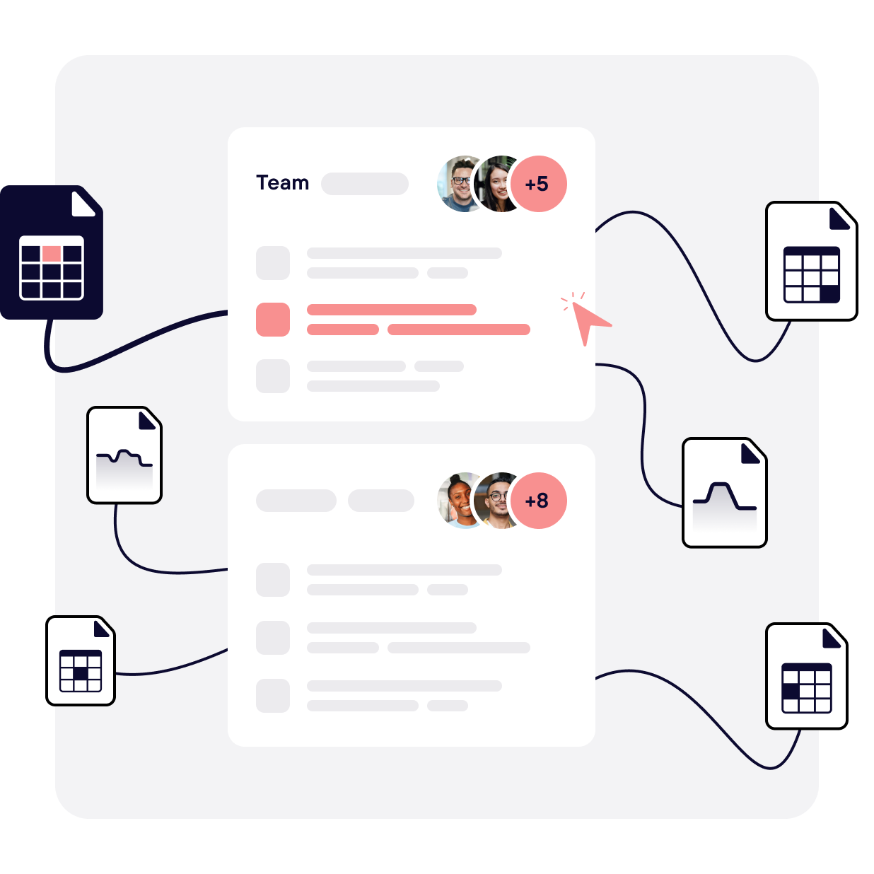 Use manual resources to map infrastructure costs and historical usage to teams and business results