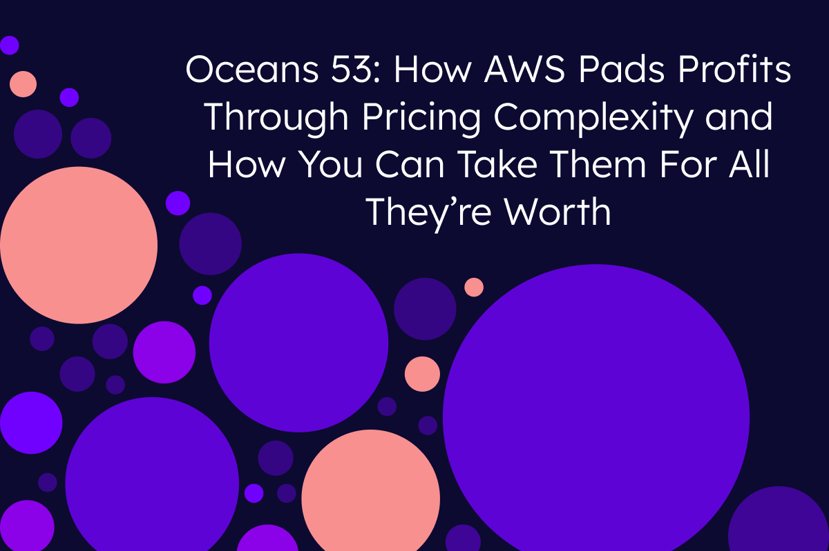 How AWS Pads Profits Through Pricing Complexity