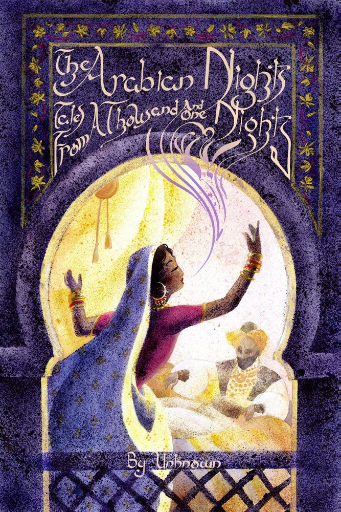 Crystal's painting Arabian Nights