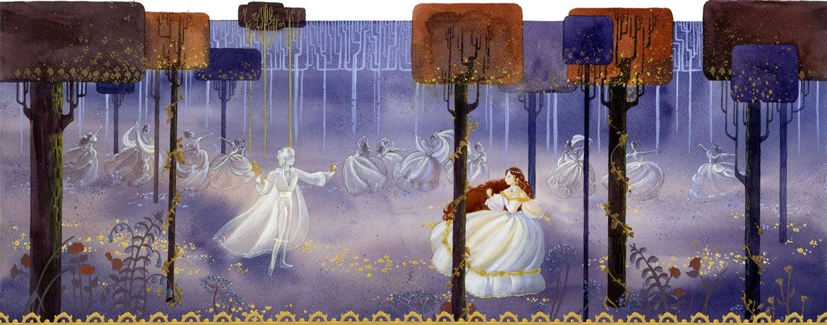 Crystal's 12 dancing princesses
