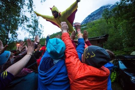 Kyllingmannen på Stryn. Foto: Andreas Løve Storm Fausko