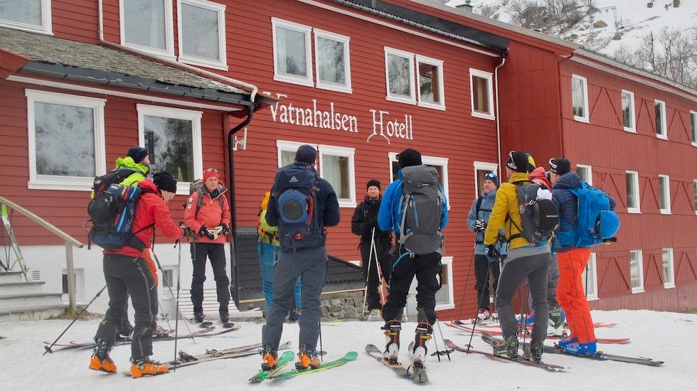 Ski in og ski out på Vatnahalsen Høyfjellshotell