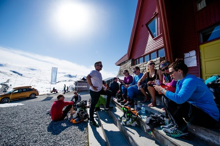 Turtagrø, High Camp, Martin I. Dalen