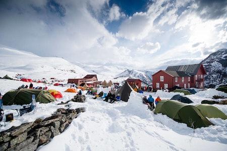 High Camp Turtagrø blir ikke helt den samme i 2021, men vi kommer til å legge opp til en virtuell løsning. Foto: Martin I. Dalen