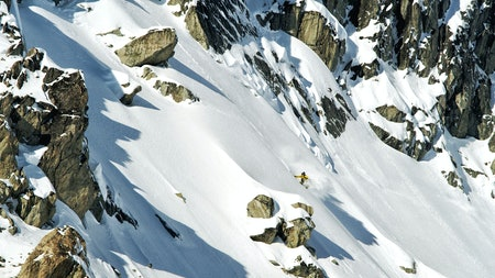 "Ian Mcintosh i BC i filmen ""Winterland"". Foto: @bddanncreative/Winterland"