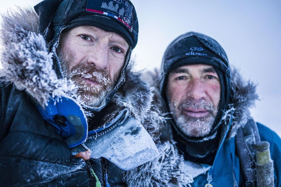 Børge Ousland og Mike Horn på ekspedisjon over Nordpolen