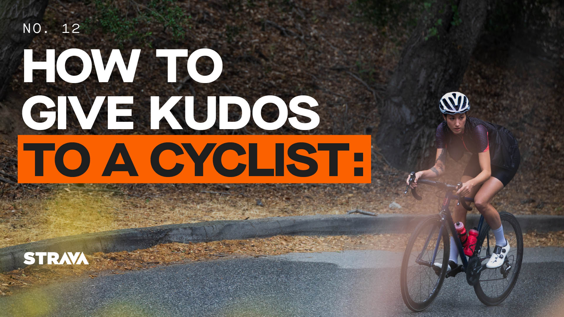 How to Give Kudos to a Cyclist
