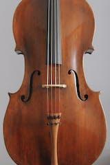 Old english cello top