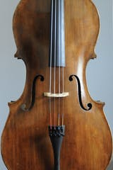 German cello front