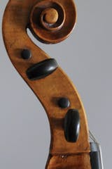 German cello scroll