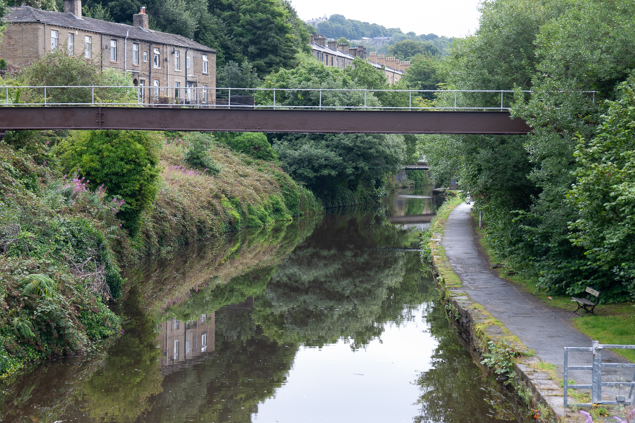Sowerby Bridge Canal Picture 1