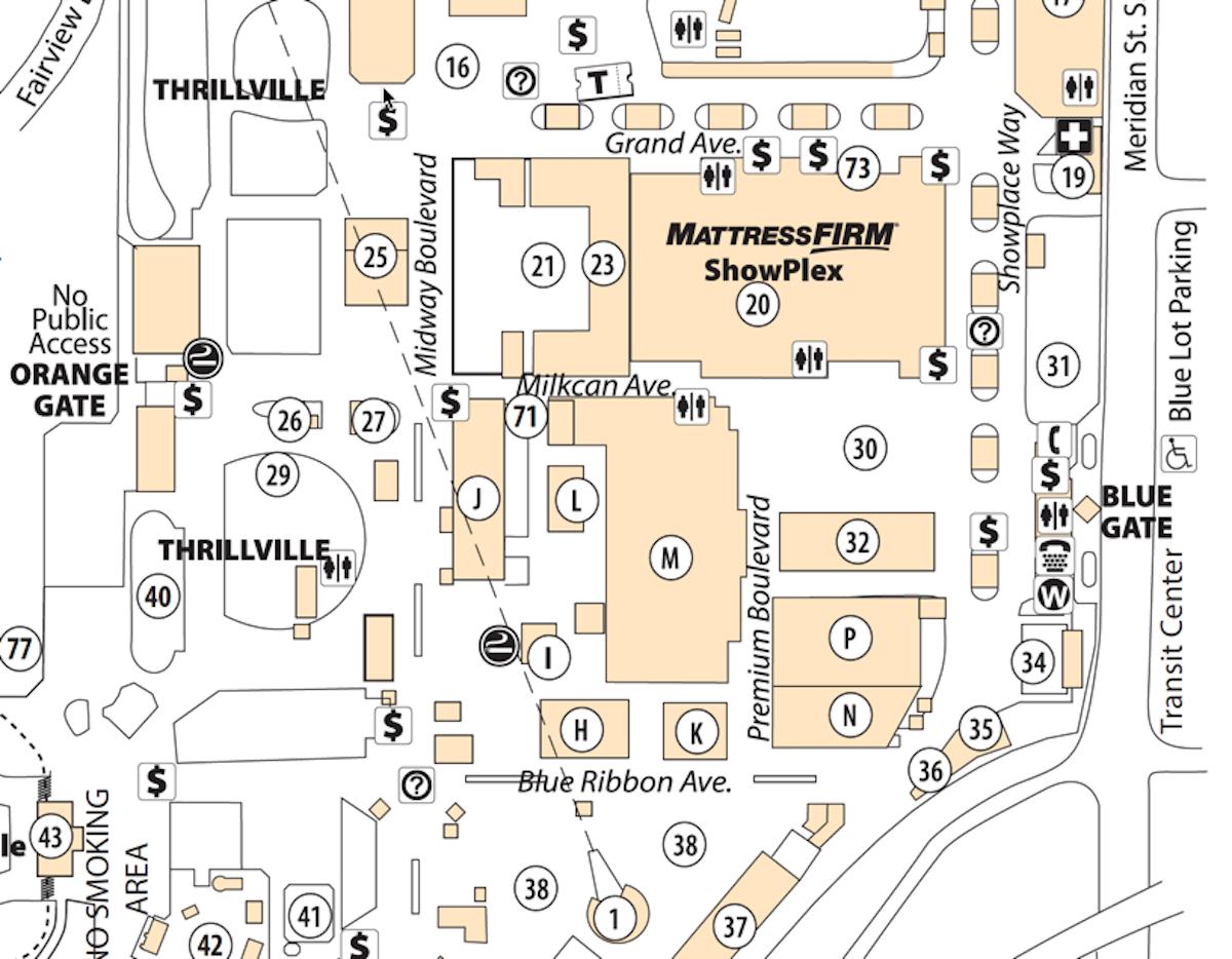Maps Washington State Fair