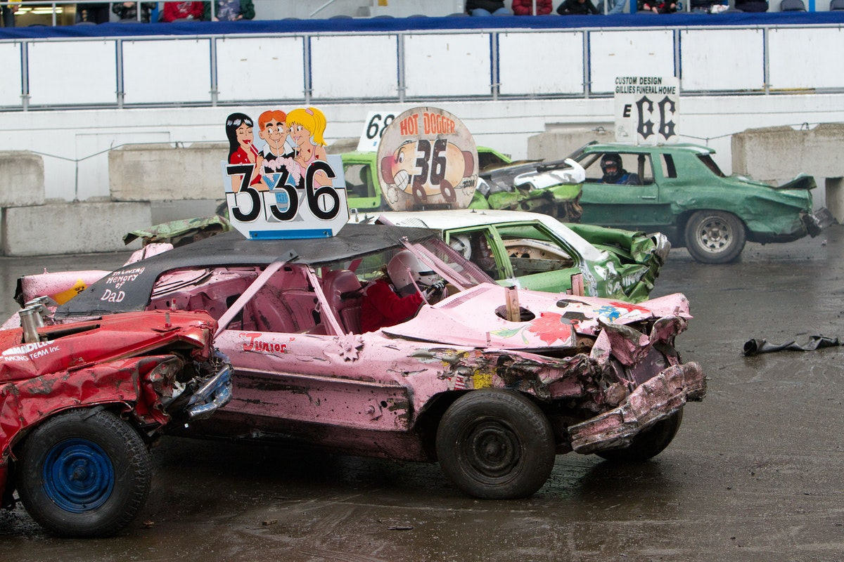 Slamfest Demolition Derby Sat April 17 2021 Spring Fair