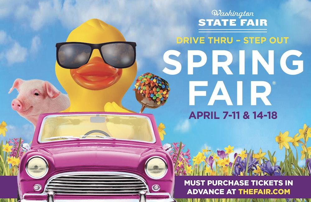 Drive-Thru Spring Fair