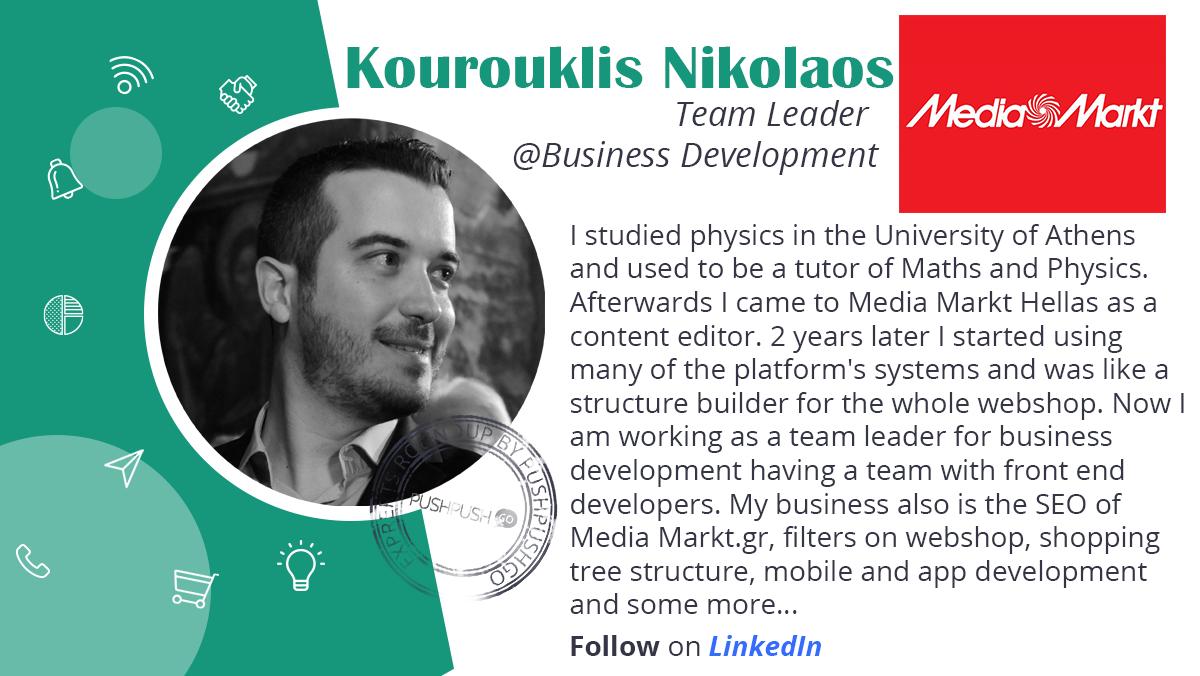 Kourouklis Nikolaos bio. MediaMarkt