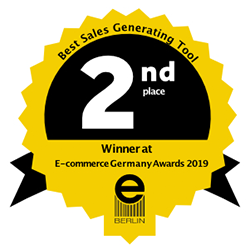 Second Place in E-commerce Germany Awards 2019