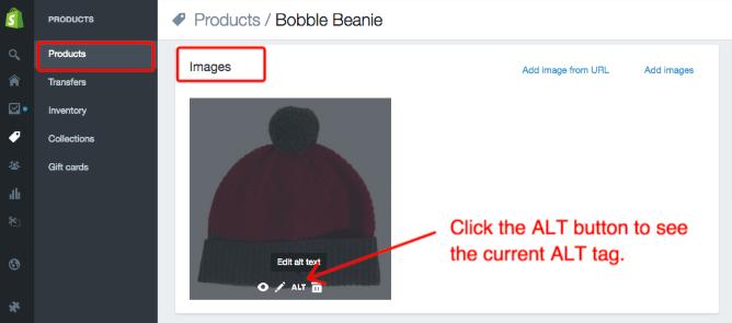 seo image optimizer shopify