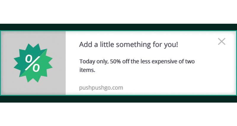 web push - optymalizacja współczynnika konwersji