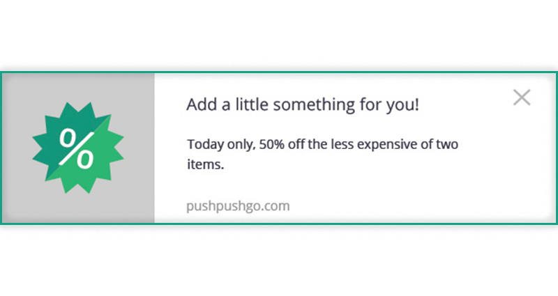 web push notification - increase conversion rate