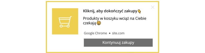 web push notyfikacja