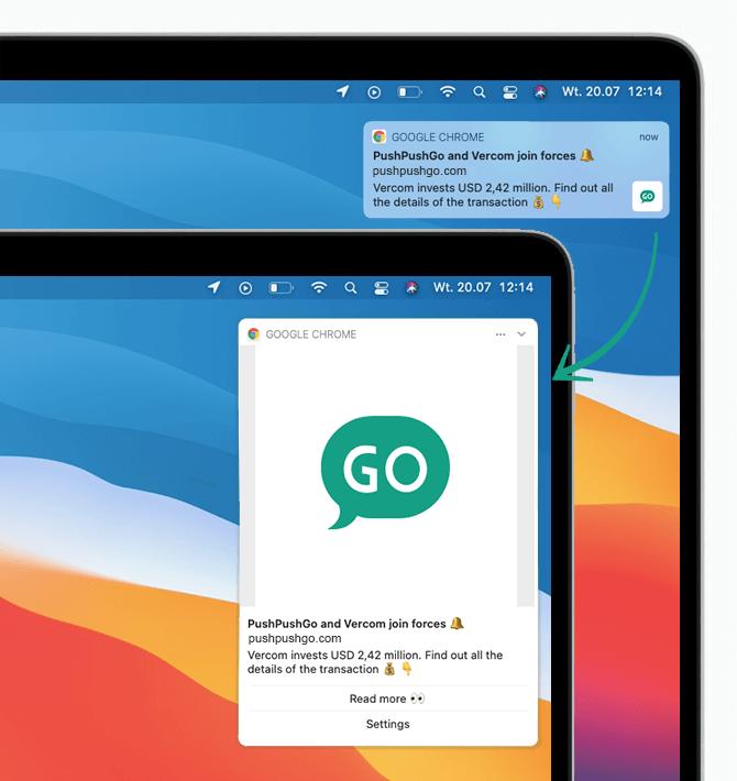 web-push-notification-desktop-mac-big-sur-google-chrome-standard-and-extended