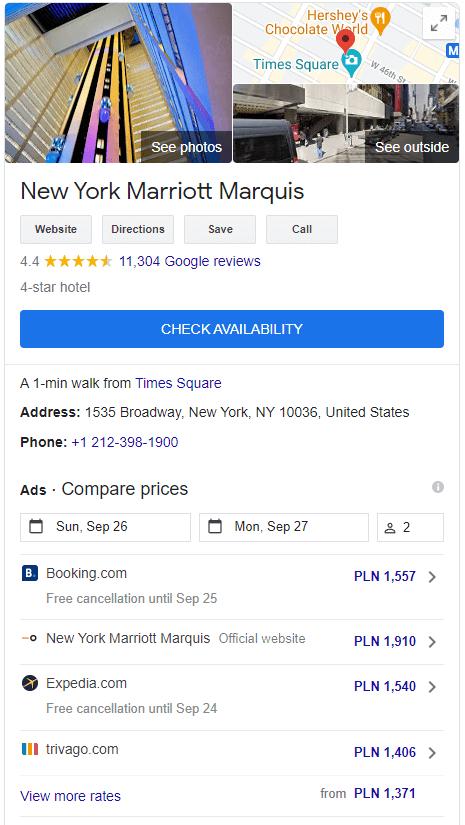 marriott-marquis-hotel-in-google-my-business