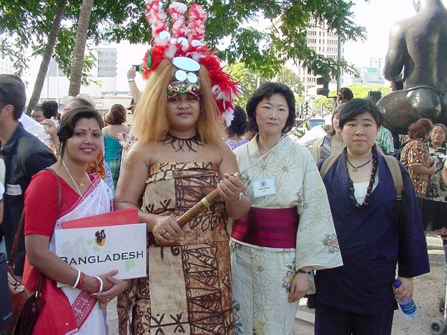 Conference participants came from more 53 nations, representing a wide diversity of cultures and ethnic groups.