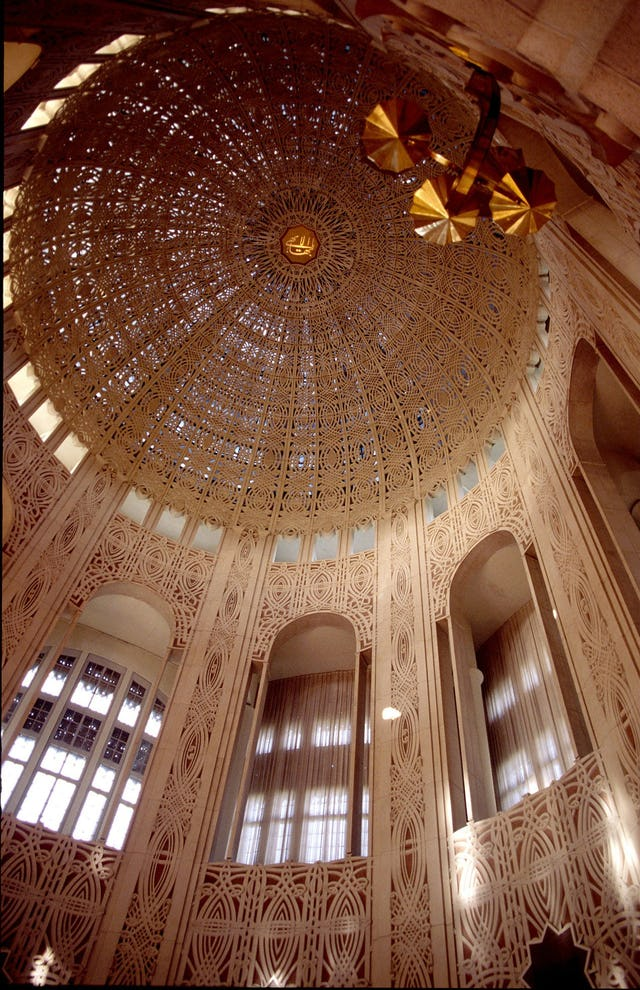 """Baha'i House of Worship in Wilmette, near Chicago, United States of America.