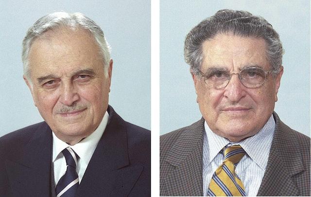 Mr. Ali Nakhjavani and Mr. Hushmand Fatheazam