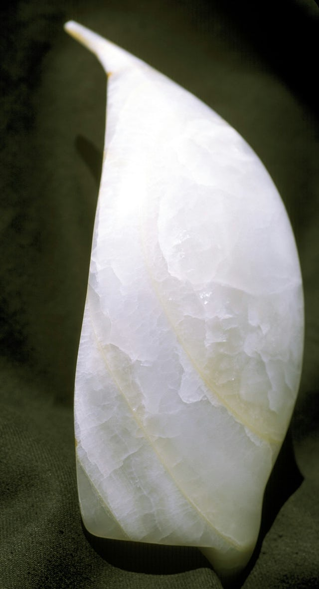 "An alabaster model of a ""wing"" of the Temple."
