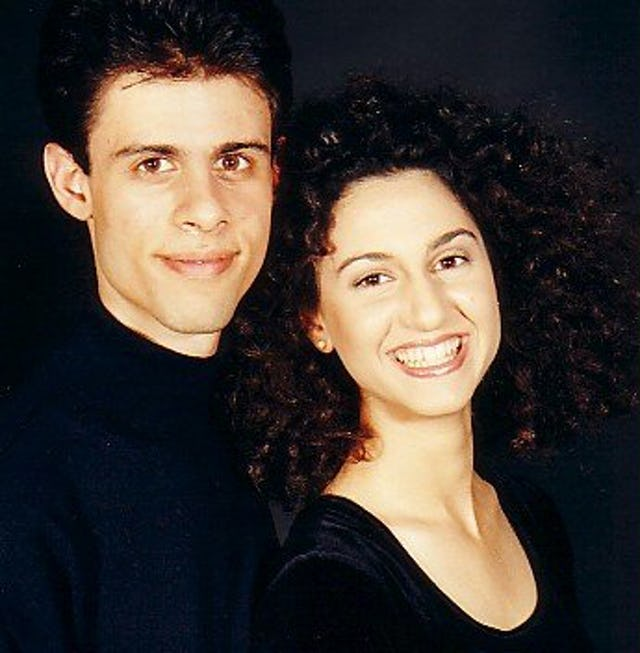 Vahid and Martha Khadem-Missagh.