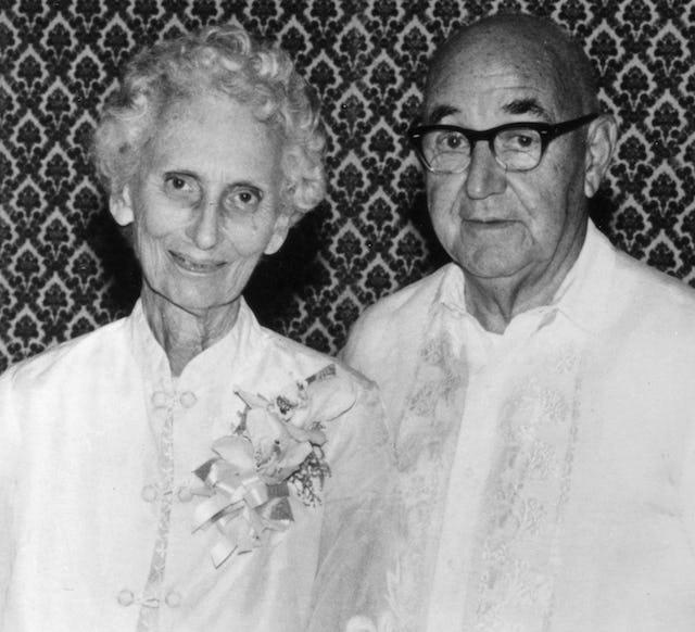 Cynthia and Edgar Olson.