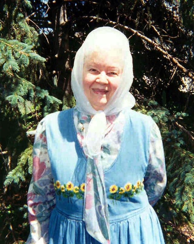 Mavis Nymon, 2002.