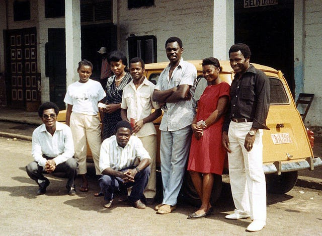 Baha'is in Luba, Equatorial Guinea, 1990.