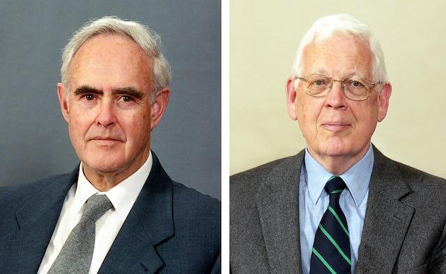 Mr. Ian Semple (left) and Mr. Douglas Martin.