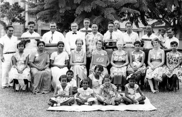 Third convention of the Baha'is of the South Pacific, Suva, Fiji, April 1961.