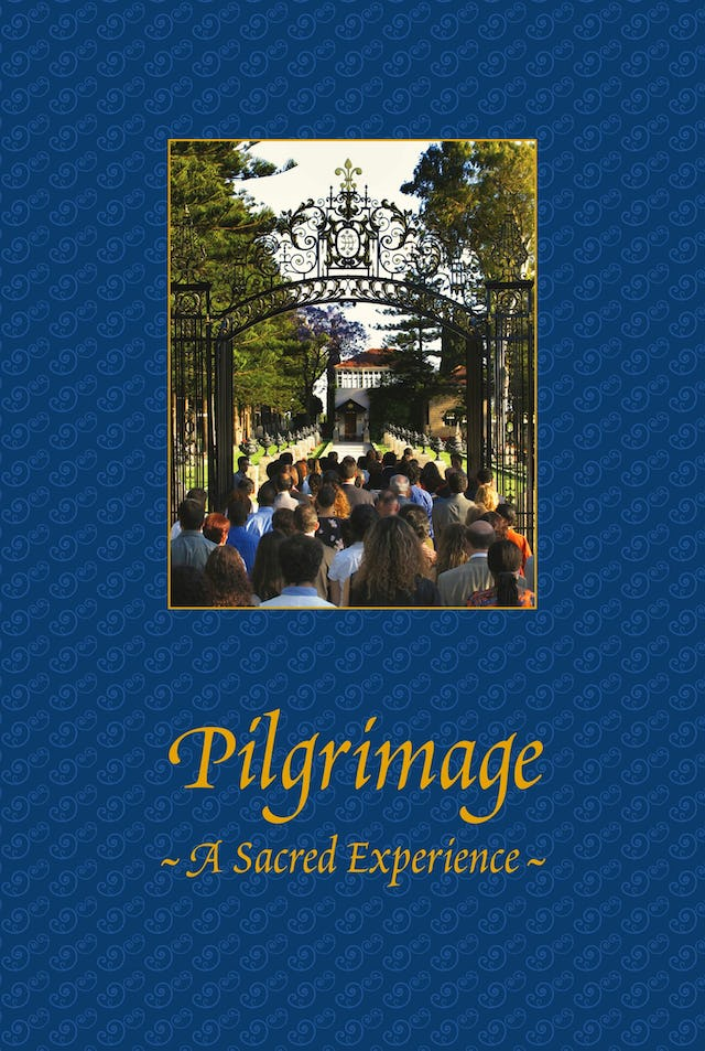 The cover of the DVD of the new film about Baha'i pilgrimage.