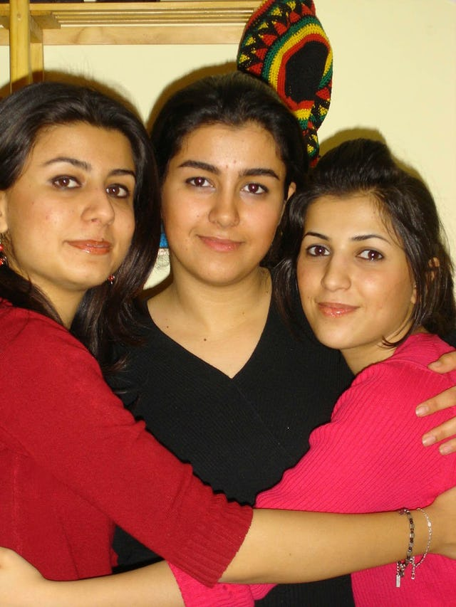 Three of the Baha'í youth arrested in Shiraz, 19 May 2006.