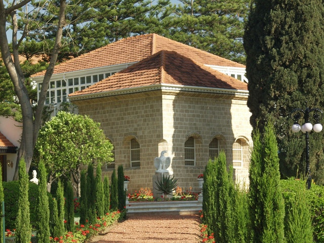 Baha'u'llah, Whose tomb near Acre, Israel, is shown here, established fasting as a law for his followers.