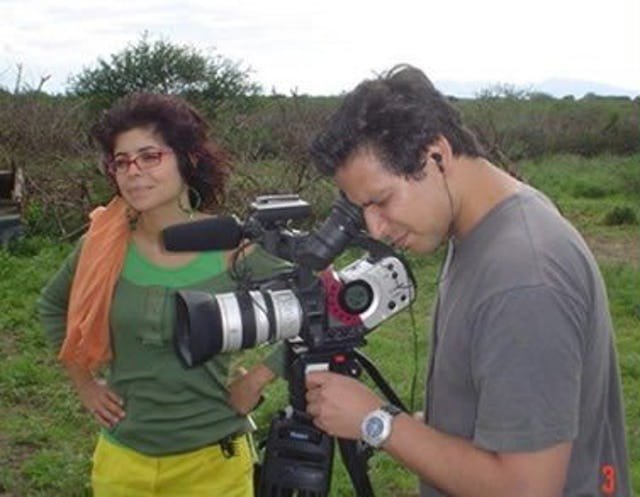 Leyla and Ryan Haidarian made the documentary for the South African Broadcasting Corporation.