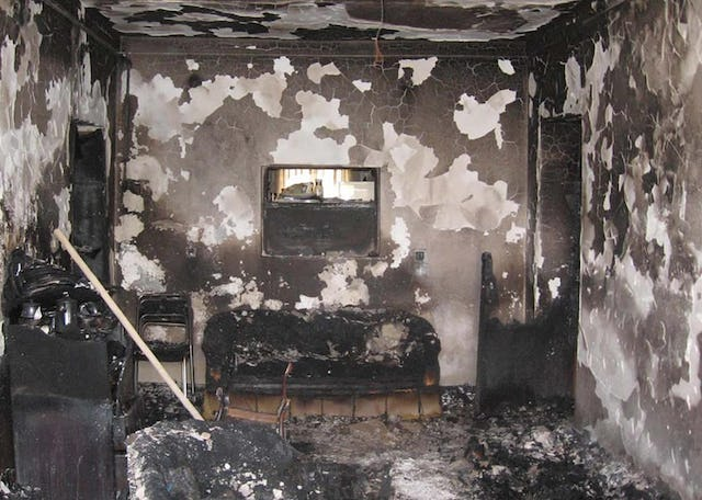 The home of the family of Mehran Shaaker of Kerman, Iran, was gutted by fire on 18 July 2008. Family members had received theatening phone calls, and their car had been the target of a recent arson attempt.