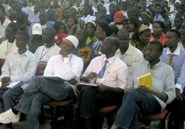 In Abidjan, 1,200 people came together for the eighth of nine conferences to be held in Africa in a four-month span.